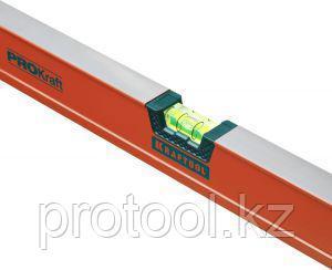 """Уровень KRAFTOOL """"KRAFT-MAX"""", особо усиленный, 2 ампулы, 2 фрезерованные базовые поверхности, 120см"""