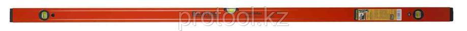 Уровень KRAFTOOL алюминиевый, 3 глазка, 150см, фото 2