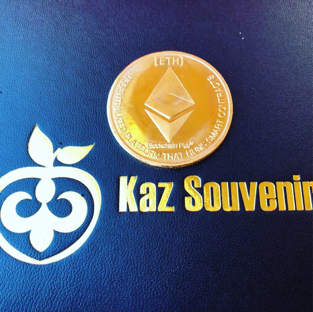 Сувенирная монета Ethereum - фото 1
