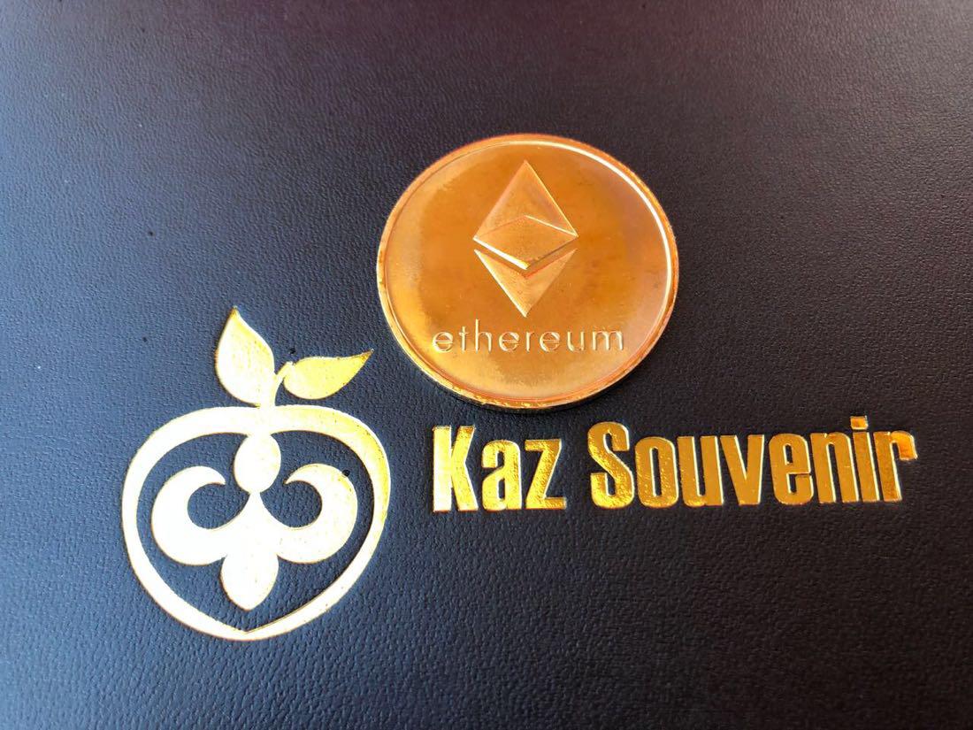 Сувенирная монета Ethereum - фото 2