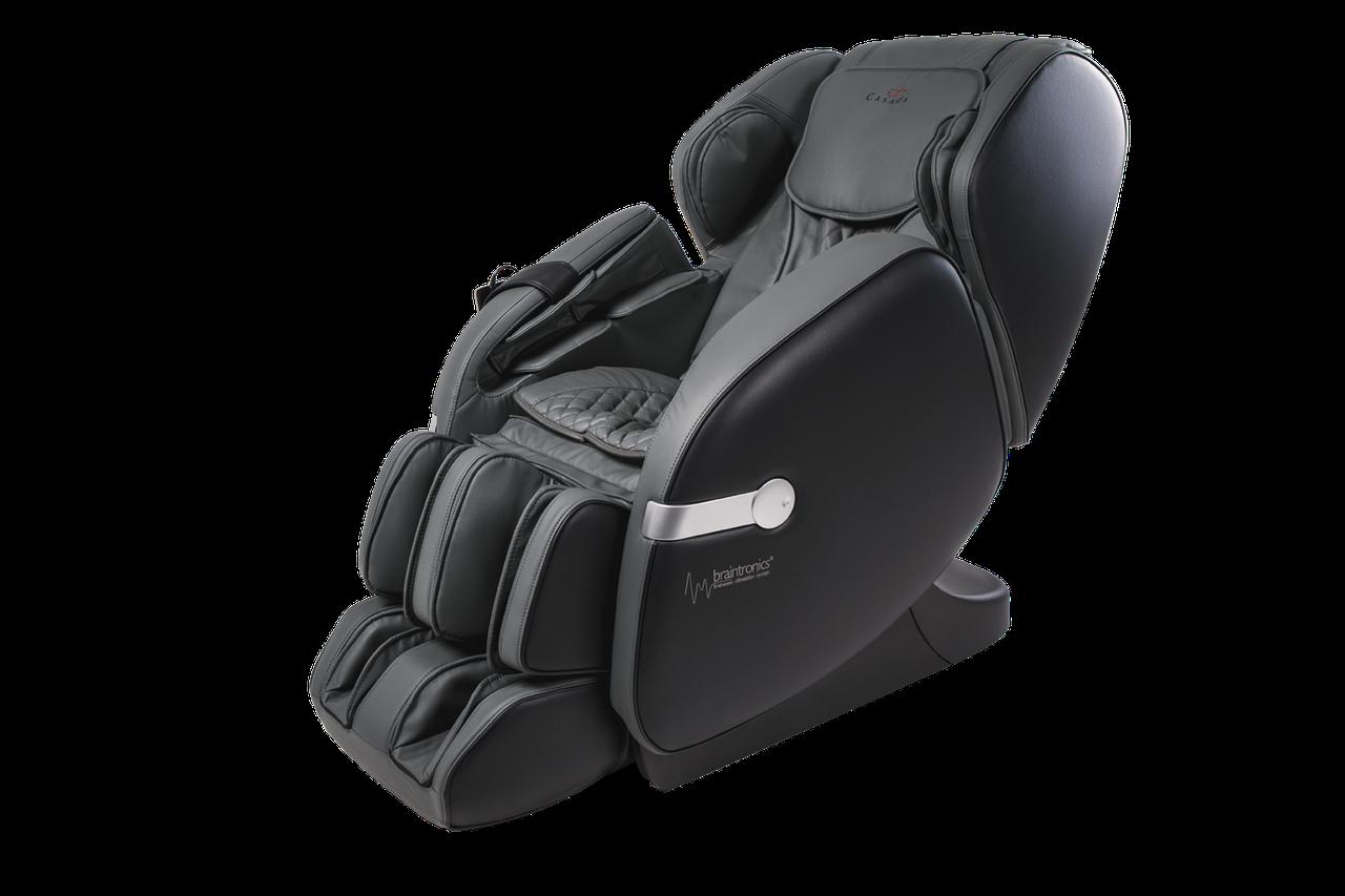 Массажное кресло Casada Betasonic II Black-Grey
