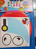 Аппликация для детей на бумажных тарелочках, Алматы, фото 3