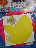 Аппликация для детей на бумажных тарелочках, Алматы, фото 4