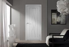 Межкомнатные двери Verda облицованные ПВХ
