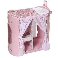 Игрушка Baby Annabell Гардероб с пеленальным столиком, кор.
