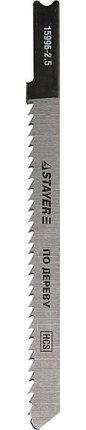 "Полотна STAYER ""PROFI"", U101BR, для эл/лобзика, HCS, по дереву, фанере, ламинату, обратн. рез, US-хвостовик , фото 2"