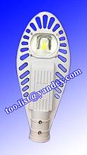 Консольный уличный светодиодный светильник СКУ 50 w белый корпус. Уличный фонарь LED Кобра