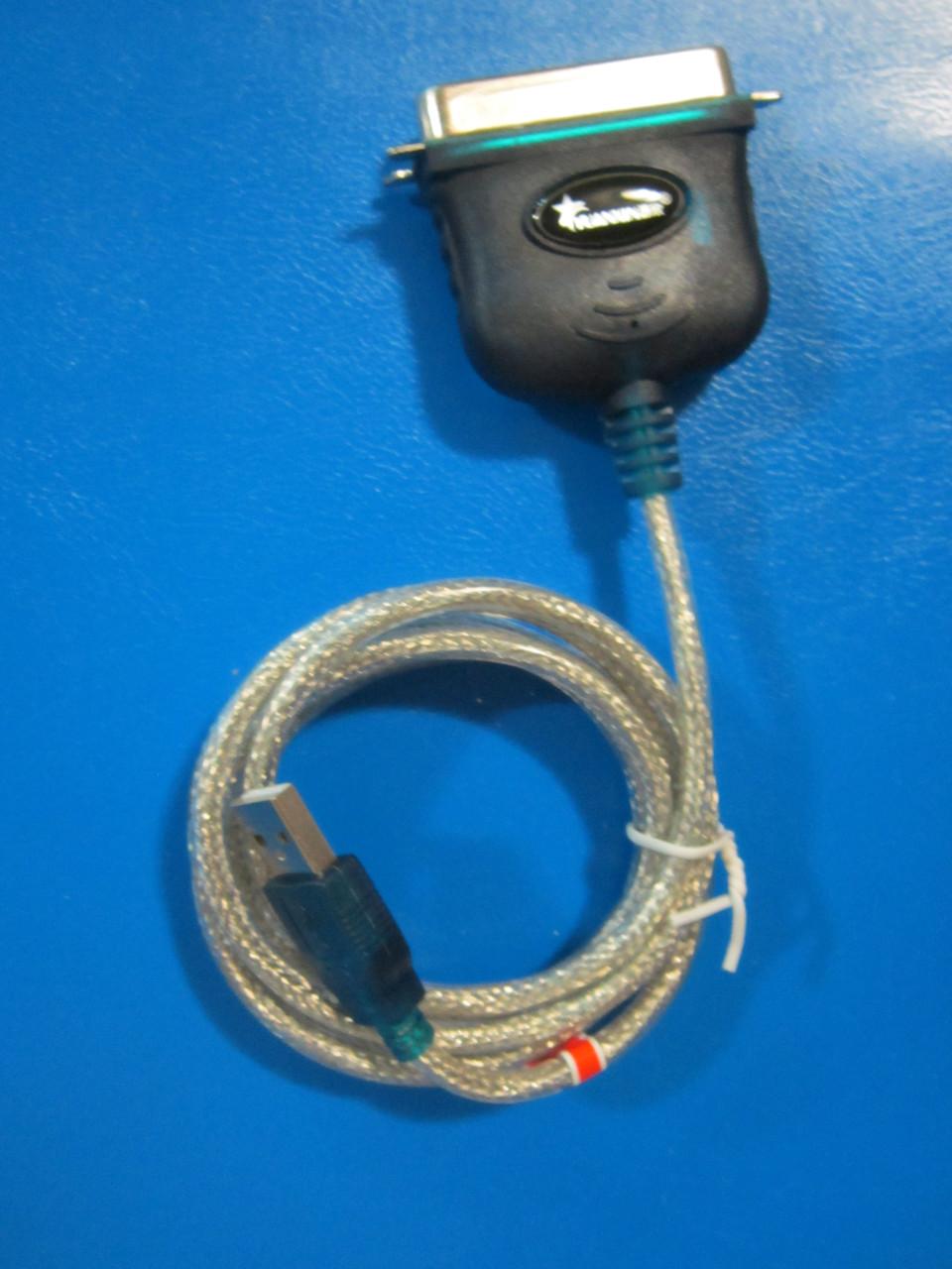 Адаптер (переходник) USB - LPT port, USB 2.0 - фото 2