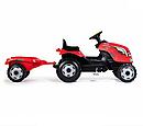 Трактор педальный с прицепом XL, красный 710108 Smoby, фото 4
