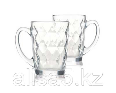 Diamond luminarc Кружки чайные 320 мл, 6 шт.