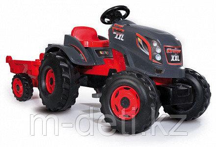 Трактор педальный XXL с прицепом 710200 Smoby Франция - фото 1