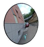 Зеркало противокражное для внутренних помещений D600мм