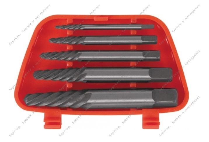 (36435) Экстрактор для шурупов набор 5 шт.