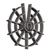 Фиксатор защитного слоя арматуры (звездочка) h30/Ø16-20