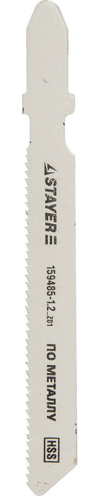 "Полотна STAYER ""STANDARD"", для эл/лобзика, HSS, по металлу, EU-хвост., 55мм, 2шт"