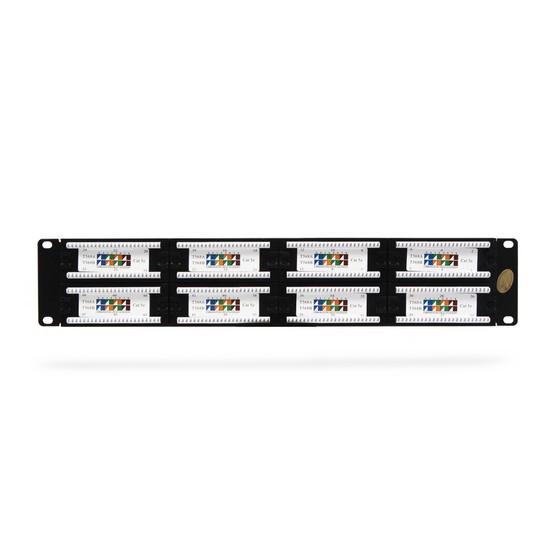 Патч Панель SHIP P197-48 48 портовая UTP 5e