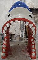 Декоративный вход в лабиринт «ГОЛОВА АКУЛЫ», фото 1