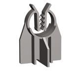 Фиксатор защитного слоя арматуры (стульчик) h25/Ø8-24