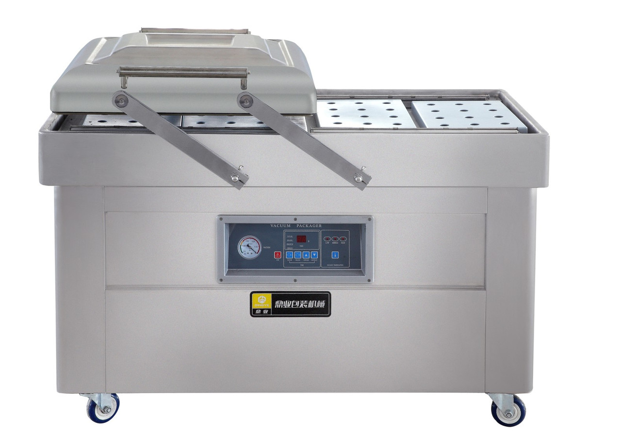 Вакуумный упаковщик двухкамерный DZ-400 W