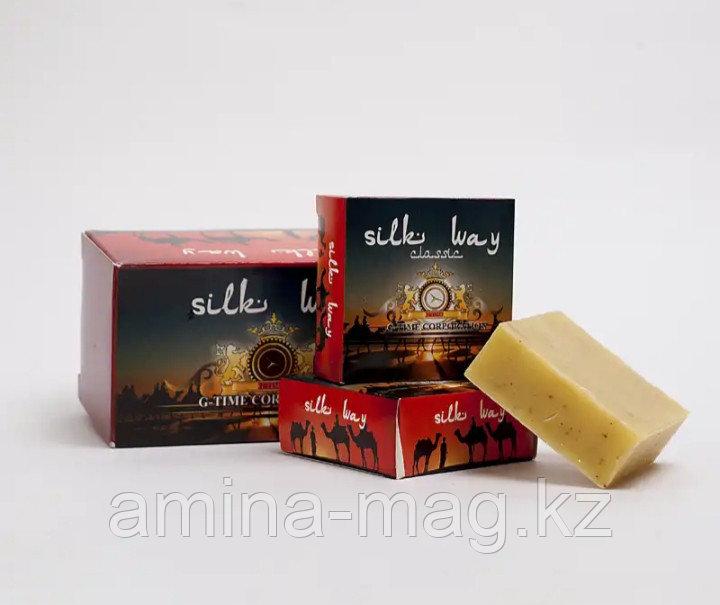 """Мыло лечебное из Шунгита """"Silk Way"""""""