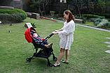 Прогулочная коляска Capella Wi-Lite Red, фото 7