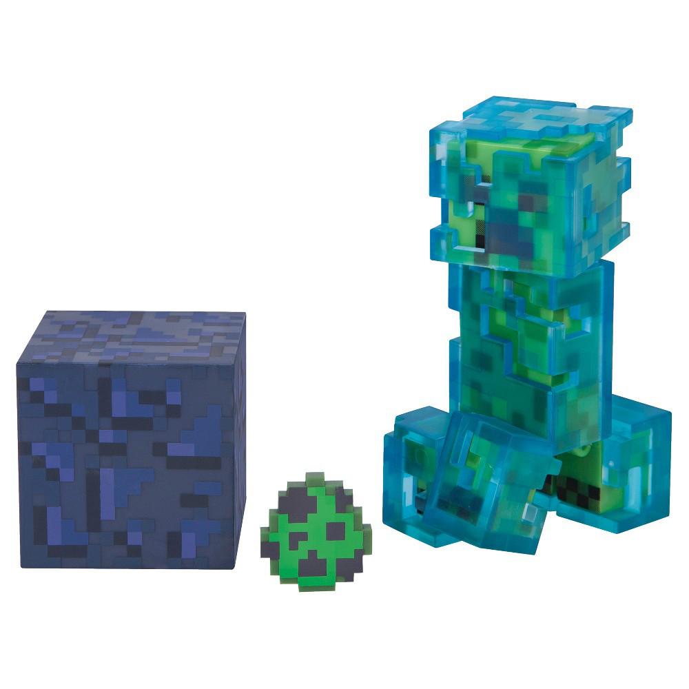 Minecraft Зачарованный Криппер (7 см)