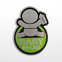 Наклейка декоративная на автомобиль «Baby in car»