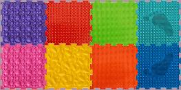 Модульные массажные коврики