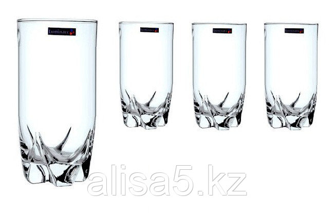 Копия Lisbonne стаканы высокие 330 мл. 3 шт, уп.