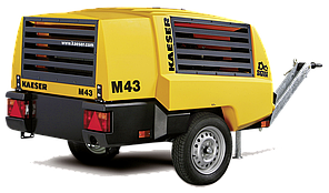 Компрессор строительный M43 Kaeser, Германия