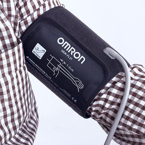 ТОНОМЕТР OMRON M3 Comfort (манжета Intelli Wrap 22-42 см, адаптер) автоматический на плечо - фото 5