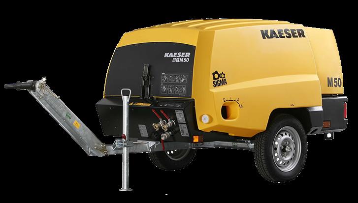 Компрессор строительный M50 PE Kaeser, Германия