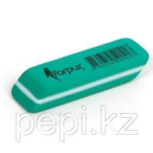 Ластик  Forpus, Non-Dust, 47х17х7мм, зеленый
