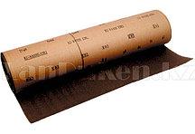 Шкурка на тканевой основе, P 80, 1000 мм х 20 м, водостойкая 75288 (002)