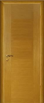 Межкомнатная шпонированная дверь Стандарт светлый дуб,орех