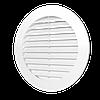 10RKU, Решетка вентиляционная регулировочная круглая D90-160 с фланцем D100