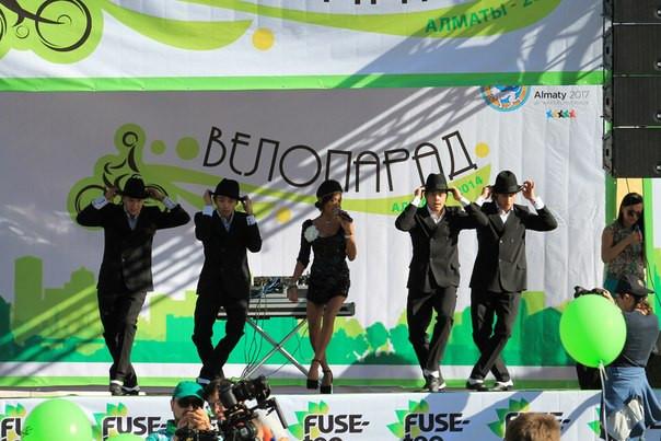 Велопарад. 7 сентября в Алматы. Fuse-tea.