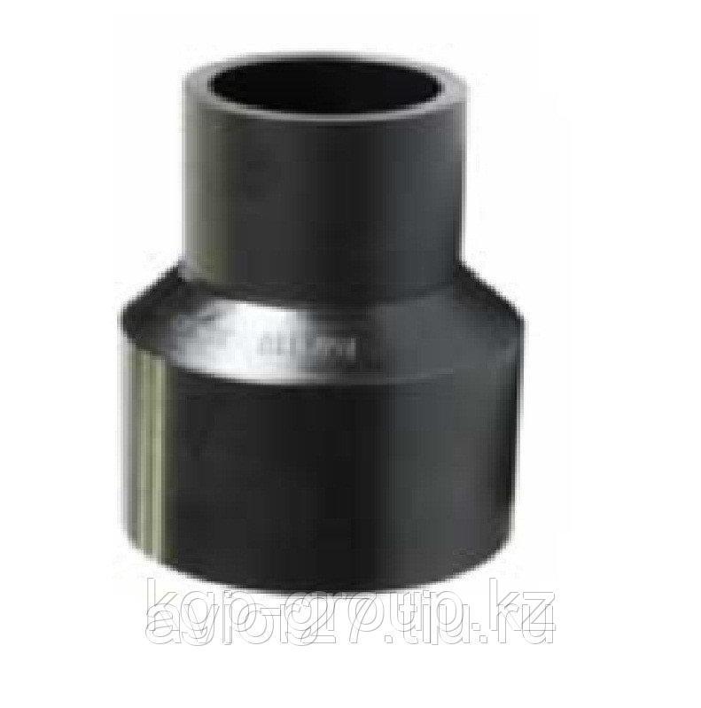 Переходник (литой) удлиненный SDR 11  Диаметр- S 160x110