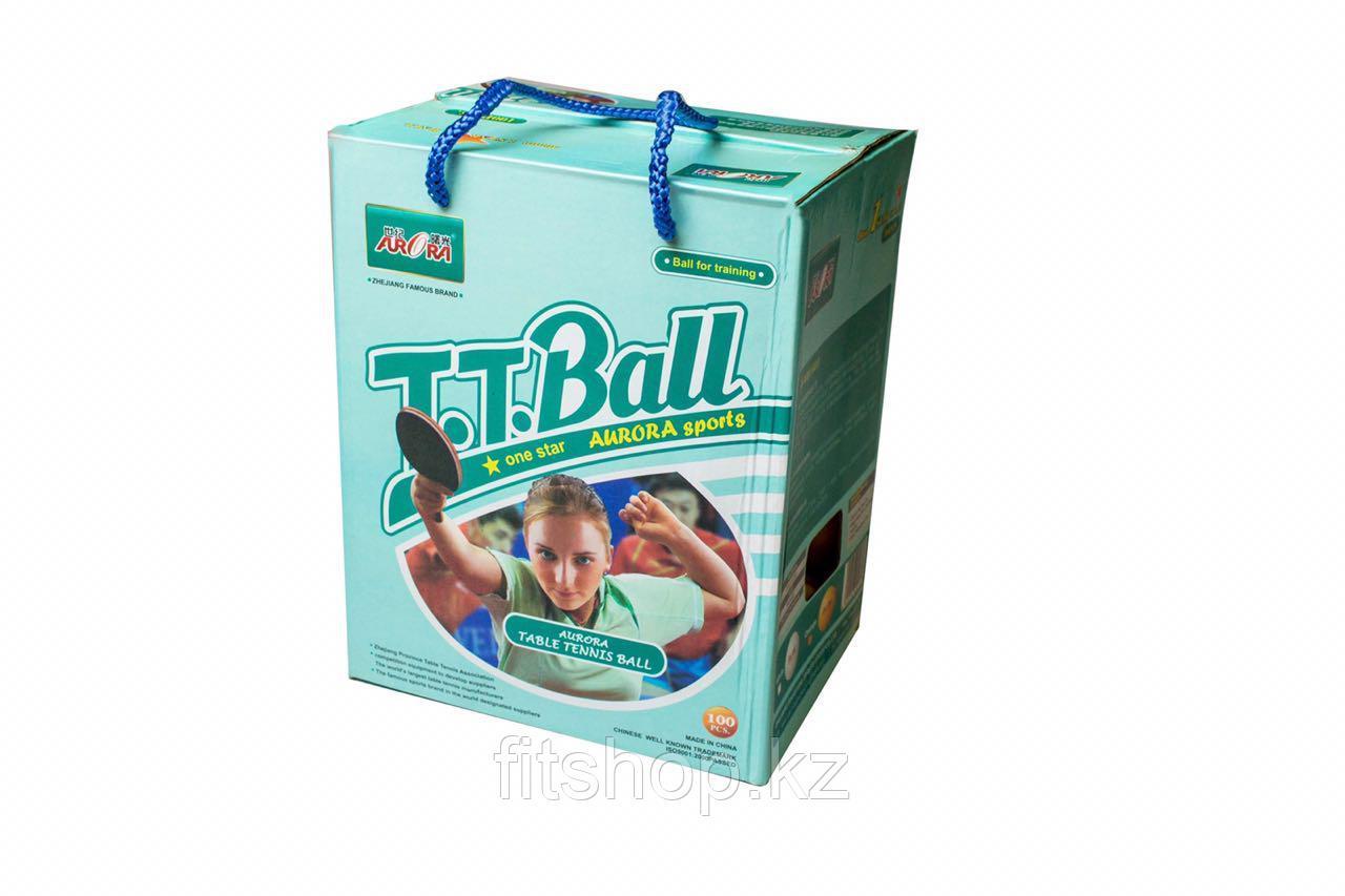 Шарики для настольного тенниса (коробка 100 шт)
