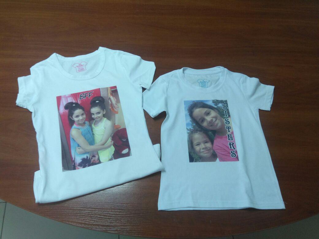 Нанесение изображения на футболки