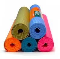 Коврик для йоги (йога мат,каремат) и фитнеса 173х61х0.6 (без сумки)