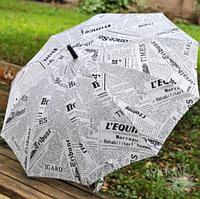 Зонт-трость «Газета», фото 1