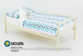 """Детская деревянная кровать-тахта Бельмарко """"Skogen бежевый"""""""