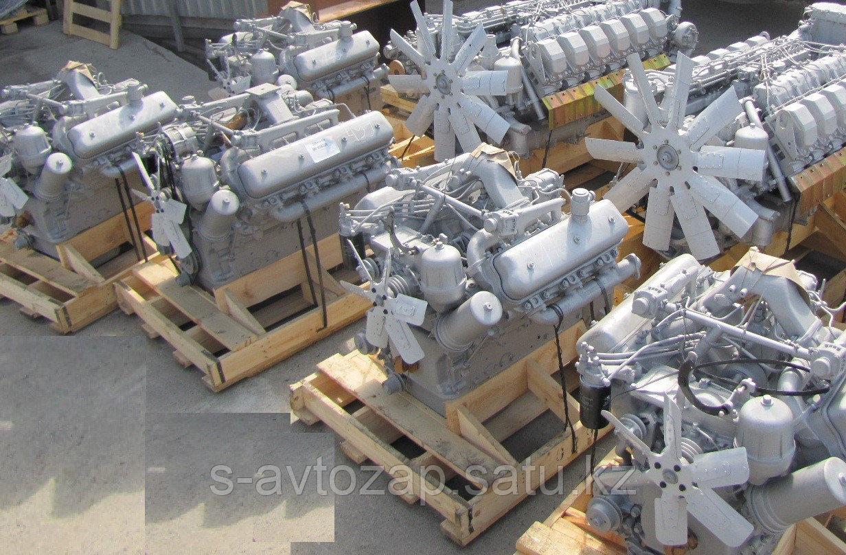 Двигатель без коробки передач и сцепления 4 комплектации (ПАО Автодизель) для двигателя ЯМЗ 6563-1000186-04