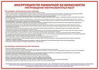 Разработка инструкций о мерах пожарной безопасности на пожароопасных участках