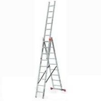 Алюминиевая лестница Tribilo 3х10 S, Н=3,0/4,7/6,9м (120618)
