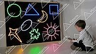 Настенная интерактивная панель «Цветные фигуры-8»