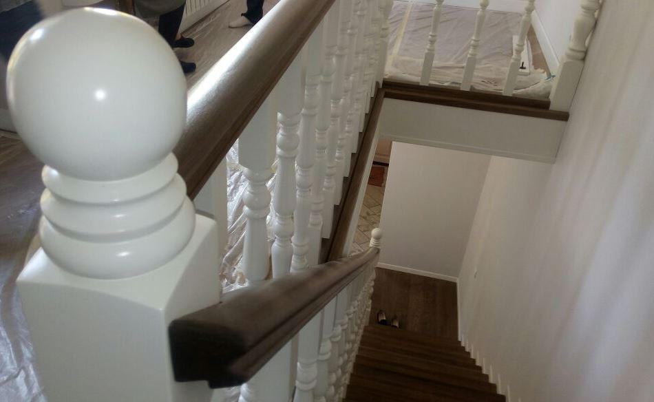 Реставрация лестницы в доме