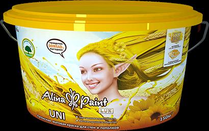 Alina Paint Uni, 12,68 кг латексная, база В для колерования  купить в Павлодаре