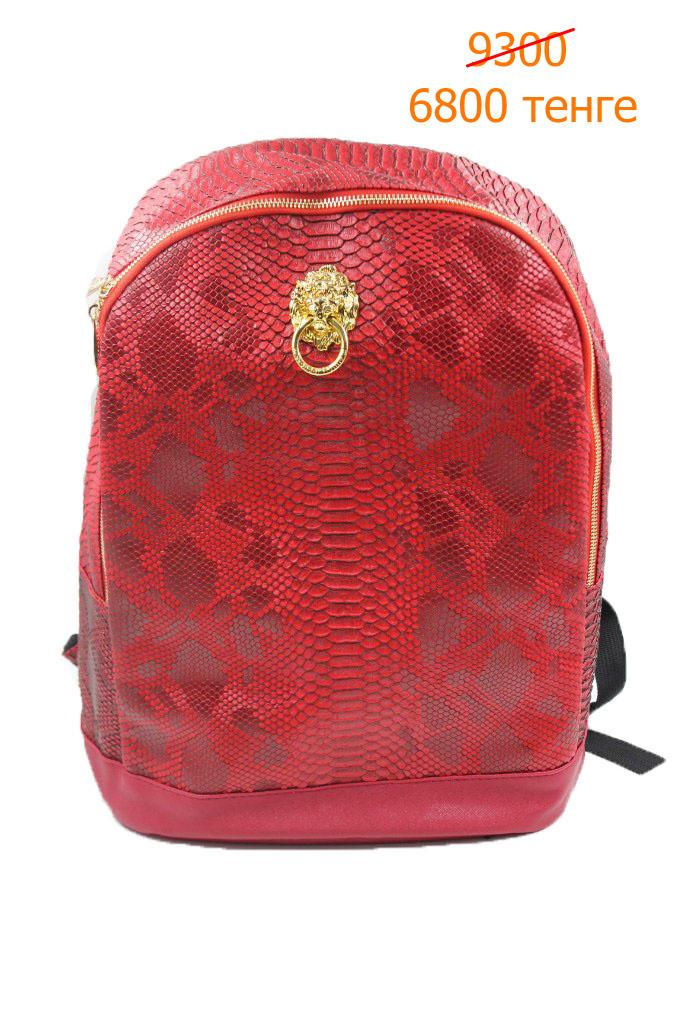 Рюкзак красный крокодил